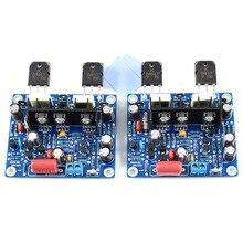 2pcs MX50 SE KTB817 KTD1047 15-100W Dual Class AB Amplifier Board Assembled AMP 2pcs mx50 se power amplifier kit dual 2 0 channel power amp kit 100w 100w