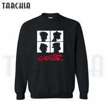 TARCHIA 2019 fashion hoodies sweatshirt gorillaz music band Sheldon personalized man coat casual parental survetement homme