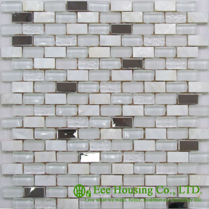 Mordern Mosaic Tiles,  200mm*200mm Shell Series Mosaic Tile Factory In China For House Decoration