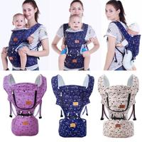 New Baby Infant Carrier Strap Adjustable Breathable Cotton Front Pouch Waist Stool