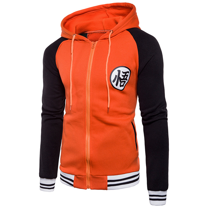 Hoodies Mens Autumn Hoody Men Dragon Ball Coat Casual Male Jacket Moleton Masculino Fashion Boy Hoodies Sweatshirt M-3xl #3