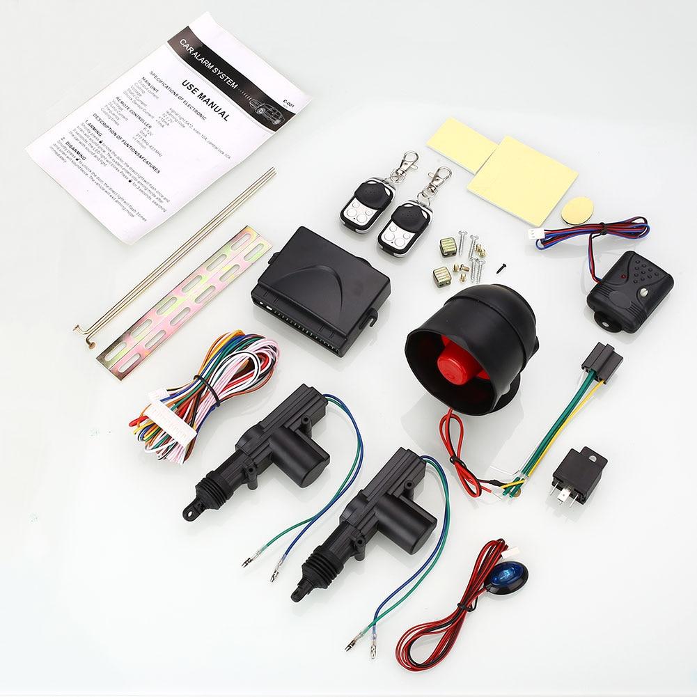 imágenes para Mando a distancia Kit de Sistema de Cierre Centralizado y Alarma de Seguridad Del Coche para 2 Puertas