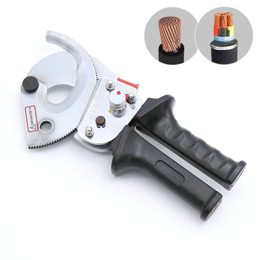 Heavy Duty Ratchet Cable Cutter Cut Up To 300mm2 Ratcheting Wire Cut Hand Tool for Cutting Steel or Steel Wire Hand ToolHeavy Duty Ratchet Cable Cutter Cut Up To 300mm2 Ratcheting Wire Cut Hand Tool for Cutting Steel or Steel Wire Hand Tool