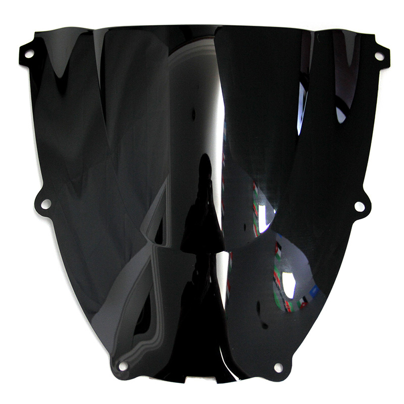 ABS Windscreen For Yamaha YZF600R YZF 600R Thundercat 1996 2007 Double Bubble Motorcycle Windshield Iridium Wind Deflectors in Windscreens Wind Deflectors from Automobiles Motorcycles