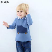 MMHSY Winter Toddler Boy Sweaters Boys Girls Clothing Knitted Children Sweater Kids Cothes Pullover Baby