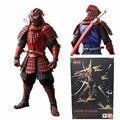 Novo Filme de Star Wars Samurai Homem Aranha Realização Vermelho Legal Spiderman PVC Brinquedos Figuras de Ação Espada Guerreiro