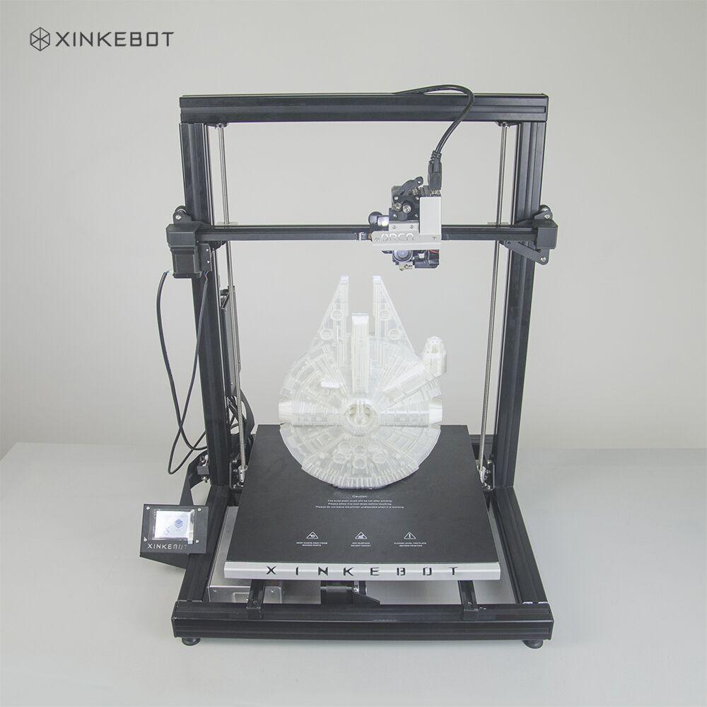 Orca Xinkebot 2 Cygnus Profissional 3D Impressora de Nivelamento Automático 400x400x500mm Acionamento Direto Única Extrusora 3D drucker Impresora 3D