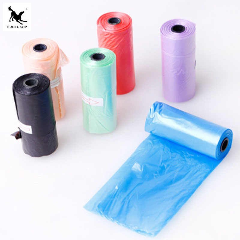 10 rolls(150pcs) Degradable Pet Dog Waste Poop Bag Garbage Organizer Bag Shit picking bagsPet Supply Outdoor Home Clean Refill