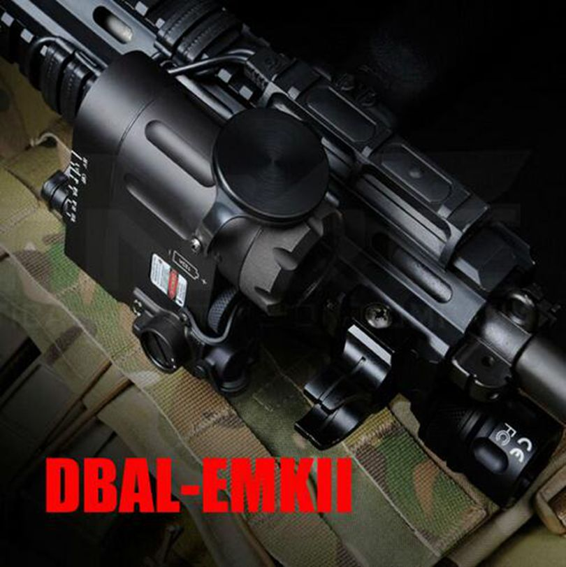 Jachtelement Tactical Flashlight DBAL-D2 IR-laser en Led-zaklamp - Jacht - Foto 6