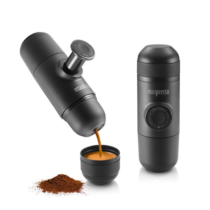 Minipresso Wacaco Creative Manual Mini Portable <font><b>Espresso</b></font> Coffee Machine Portable, Hand Pressure Coffee Maker good for Travel H