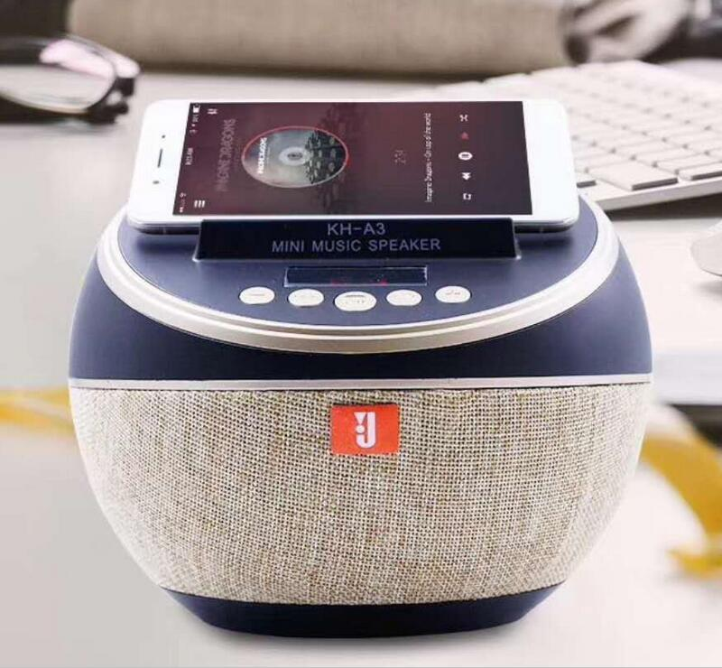 New Circular stype Bluetooth Speaker Portable Wireless Speaker Sound System 3D Stereo Music Surround Support Bluetooth tronsmart element t6 mini bluetooth speaker portable wireless speaker with 360 degree stereo sound for ios android xiaomi player