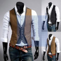 2016 The New Leave Two Men's Leisure Fashion Vest   M~XXL Size