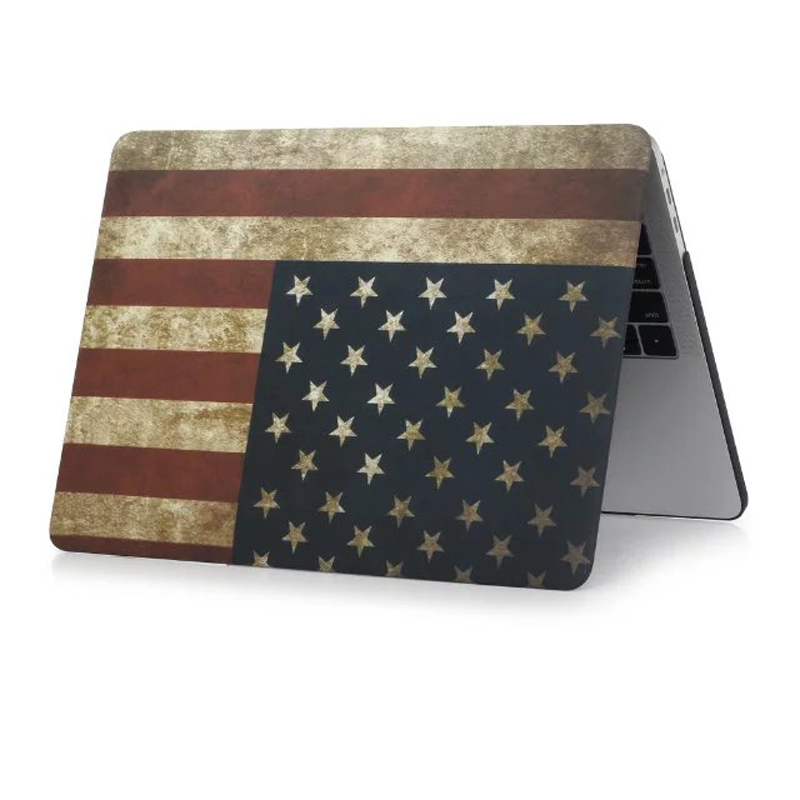 Classic matte print case for macbook pro 13 no touch bar US UK flag laptop cover for 2016 macbook pro 13 mac book A1708 sleeve