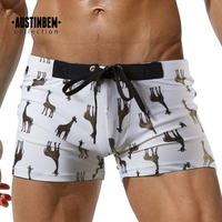 Mens Sweatpants Board Swim Suits giraffe print Men Beach surf Shorts Maillot De Bain Bottoms Shorts Male swimming Summer wear