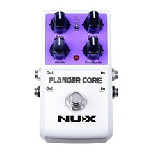 NUX Flanger Core Guitar Effects Pedal Normal & Tape Flanger True Bypass