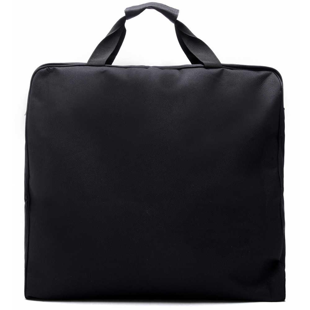 Zebella Водонепроницаемый черный мешок для хранения одежды с молнией костюм сумка Прочный для мужчин бизнес путешествия Сумка для костюма одежда чехол большой Органайзер