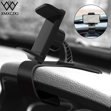 XMXCZKJ Car Mount Mobile Cell Phone Holder Cradle Cellphone Clip Stand Support For Adjustable Bracket Smart in