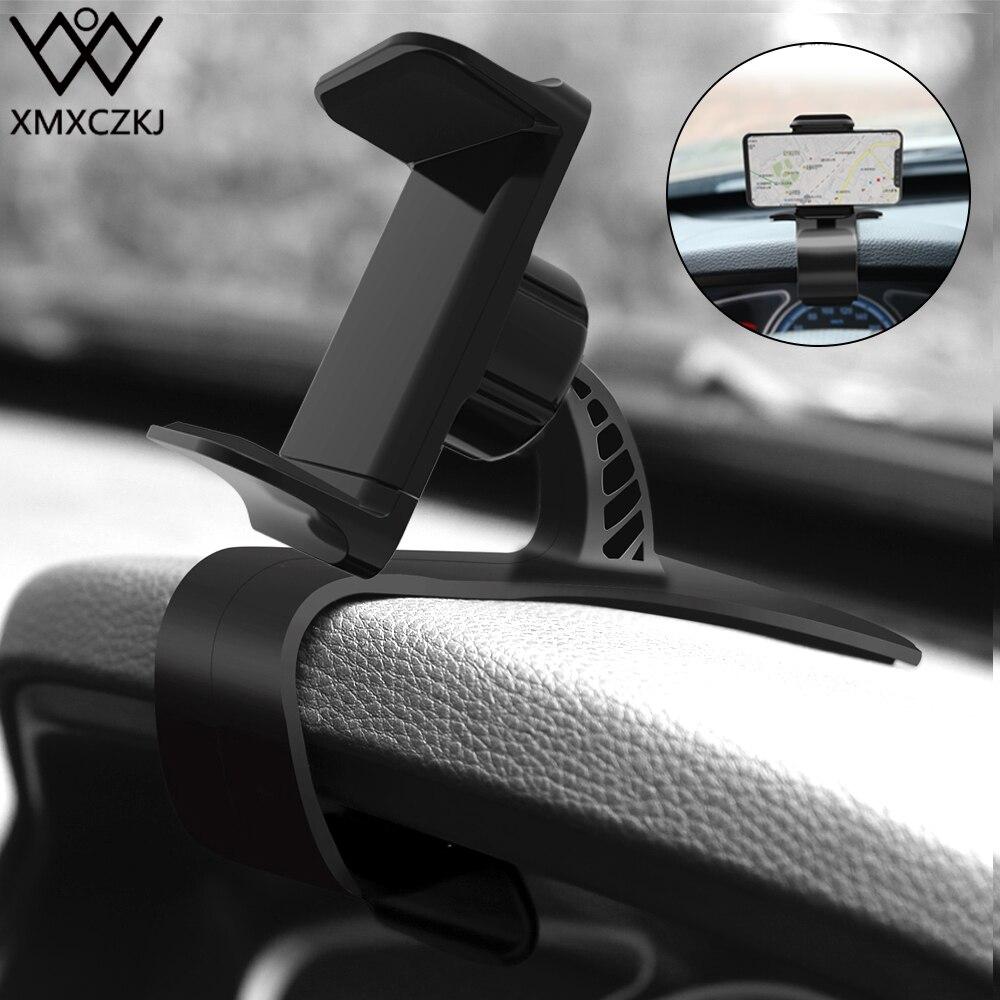 XMXCZKJ Car Mount Mobile Cell Phone Holder Cradle Cellphone Clip Stand Support For Adjustable Bracket Smart Phone Holder in Car