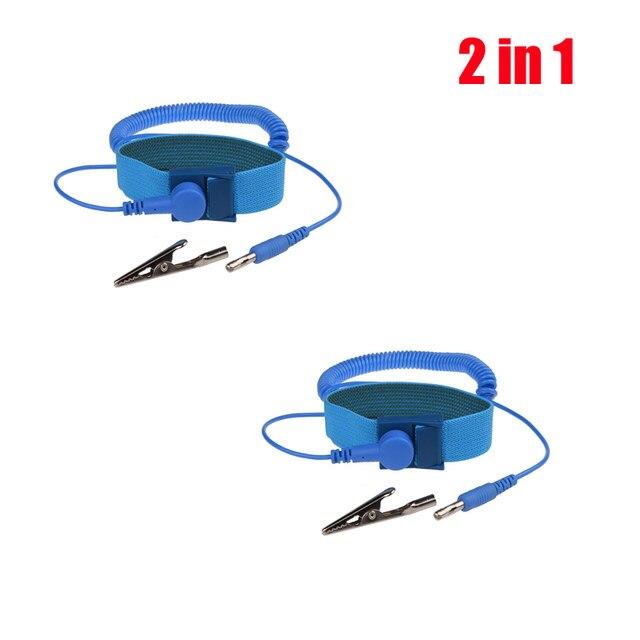 Online Shop Adjustable Anti Static Bracelet Electrostatic ESD ...