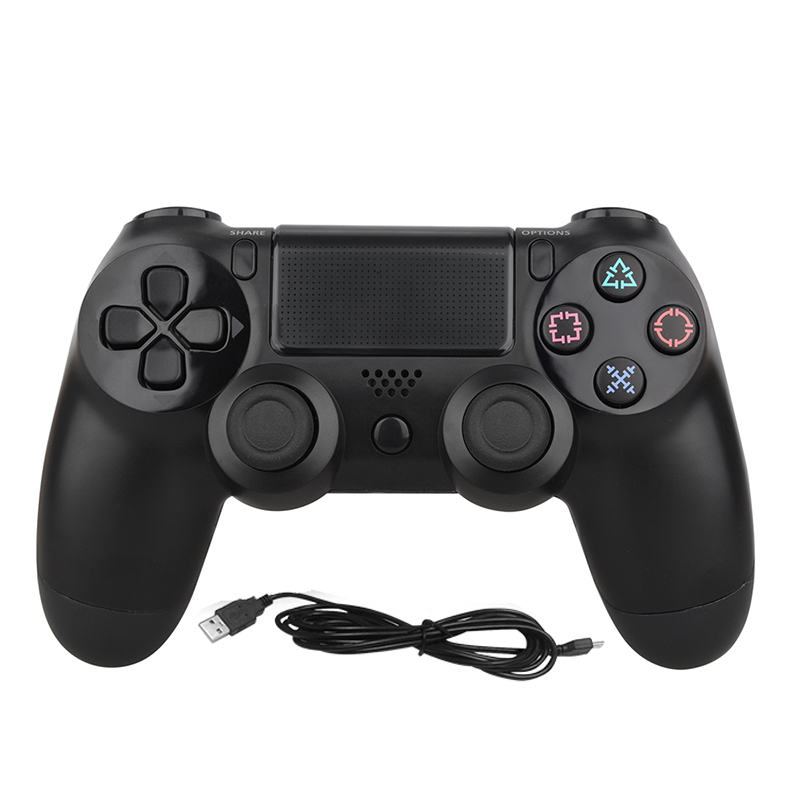 Onetomax USB Wired Gamepad Controller For PS4 Game Controller For Sony Playstation 4 Dual Shock Vibration Joystick Gamepads voground new for sony ps4 bluetooth wireless controller for playstation 4 wireless dual shock vibration joystick gamepads