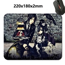 180*220*2m Large black butler Print 2017 New Arrival High Quality Durable Computer Rubber Gaming Anti-Slip Laptop PC Mouse Pad