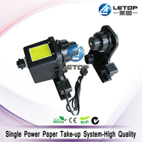 Хорошее качество! один двигатель экологически растворителя Mutoh бумага для принтера приемник, roll up устройства, рулон коллектор подходит для