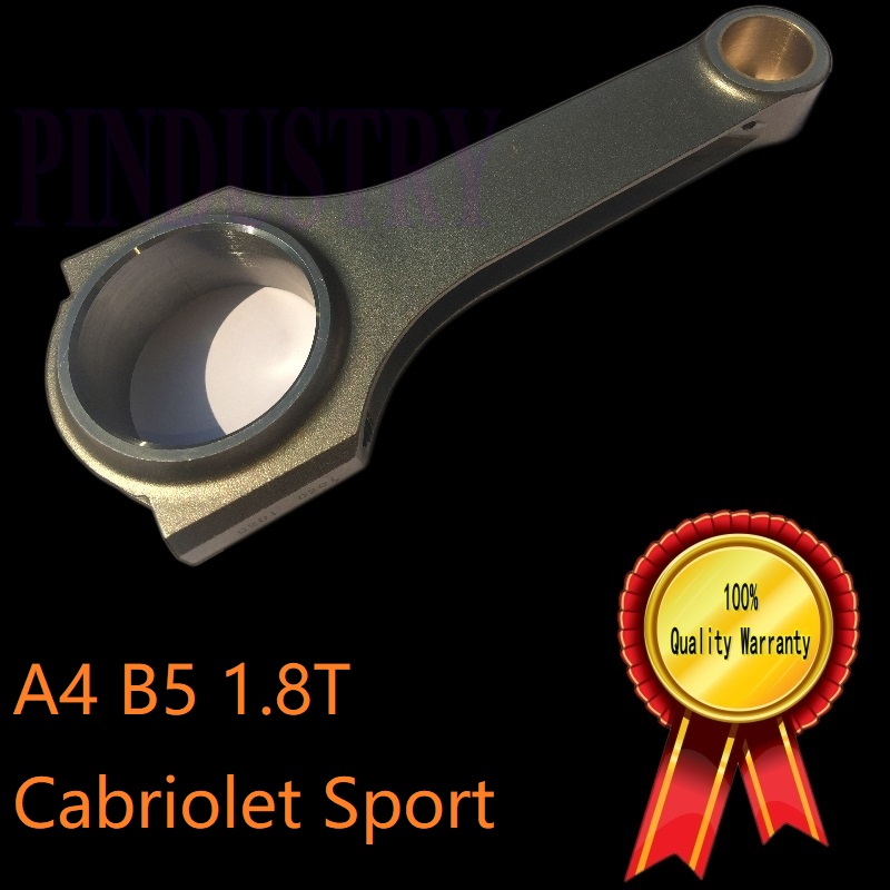 DOHC turbo piston crankshaft rebuilders balancer 18T engine rod 4340 steel forged material for motor Racing car Audi A4 zrp size