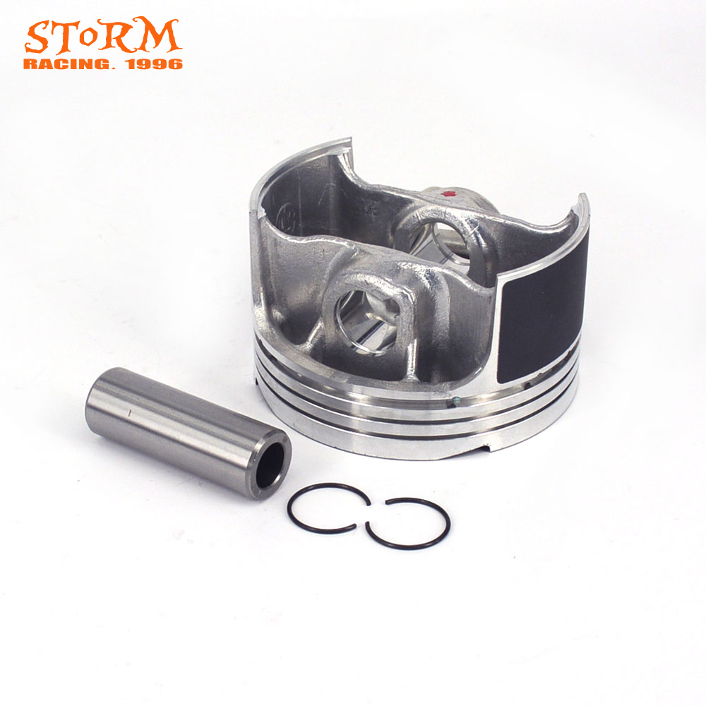 Motorcycle Piston Kit For NC250 NC250CC NC 250 XZ250R T6 Xmotos 250cc 4 Valves KAYO J5 Engine Parts Bike Off Road Motorcross engine spare parts motorcycle cylinder kit 69mm for honda cb250 cb 250 250cc off road dirt bike kayo cqr