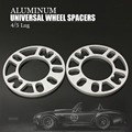 2PCS 3 MM ALLOY ALUMINUM WHEEL SPACERS SHIMS PLATE 4&5 STUD FIT FOR VW FREE SHIPPING
