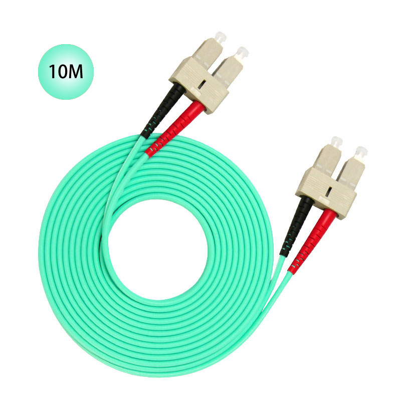 SC to SC 10GB Laser Optimized Multimode Fiber Patch Cable - OM3 - 10 Meter Free Shipping