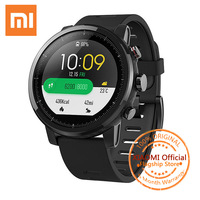Original Xiaomi Huami Amazfit Smart Watch Stratos 2 GPS PPG Heart Rate Monitor Waterproof Sports Smartwatch