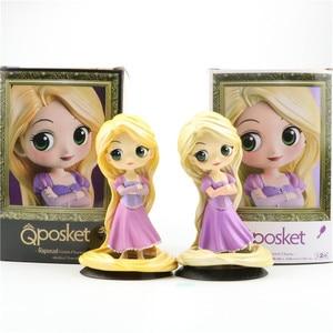 """6 """"Красавица и Чудовище Rural belle princess Qposket Cubids ПВХ фигурка Коллекционная модель игрушечная коробка 15 см L182"""