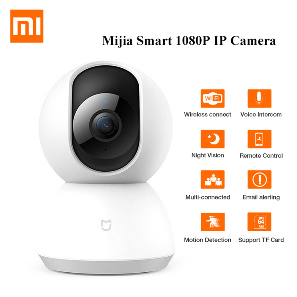 Original Xiaomi Mijia 1080 P 360 degrés maison panoramique WiFi IP caméra de Vision nocturne caméra intelligente Webcam caméscope AI mouvement amélioré