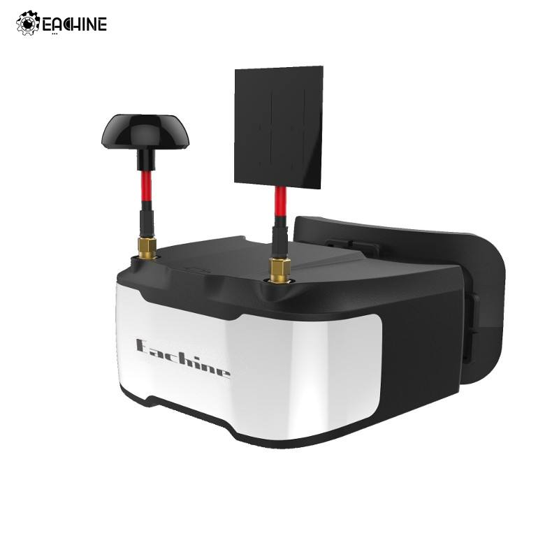 Eachine VR D3 FPV Lunettes 3 pouce 5.8g 40CH Diversité Objet Distance Réglable DVR Construit en Batterie