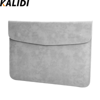 KALIDI Laptop Sleeve Bag Case Pouch Cover For 11 13 Inch Macbook Air 12 Macbook 13