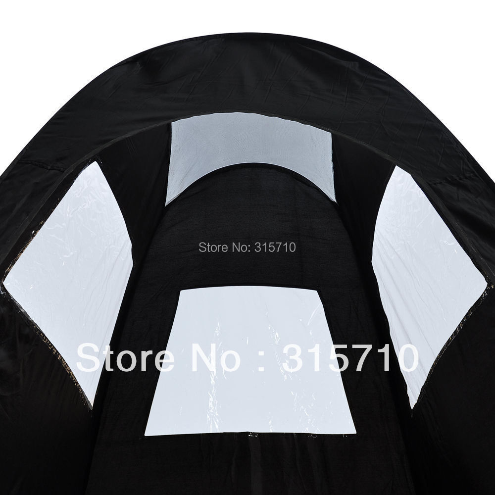 Black/Tan Pop Up Airbrush Makeup Sunless Spray Tanning Tent Booth Clear Window-in Tents from Sports u0026 Entertainment on Aliexpress.com | Alibaba Group  sc 1 st  AliExpress.com & Black/Tan Pop Up Airbrush Makeup Sunless Spray Tanning Tent Booth ...