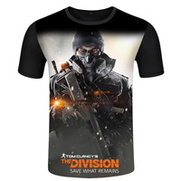 Tom Clancy's The Division Agent T Shirt Round neck Short Sleeve T Shirt