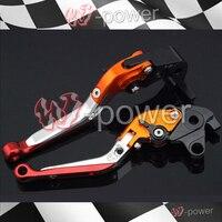 fite For HONDA CBR 600RR CBR600RR 2003 2004 2005 2006 Motorcycle Adjustable Folding Extendable Brake release lever logo REPSOL