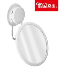 Free Shipping Garbath Bathroom Super Strong Vacuum Suction Cup Mirror Rotable Cosmetic Bath