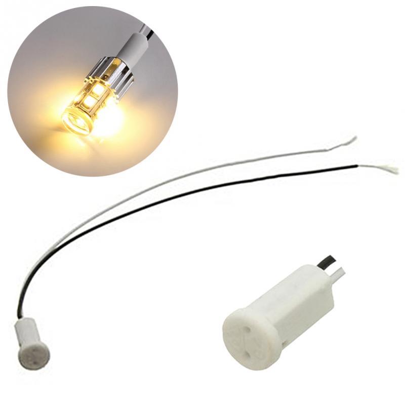 5pcs/10pcs G4 Lamp Socket 10cm White / Black G4 Lamp Holder For 250V 2A LED Crystal Heads Light Bulb Halogen Light Bulb