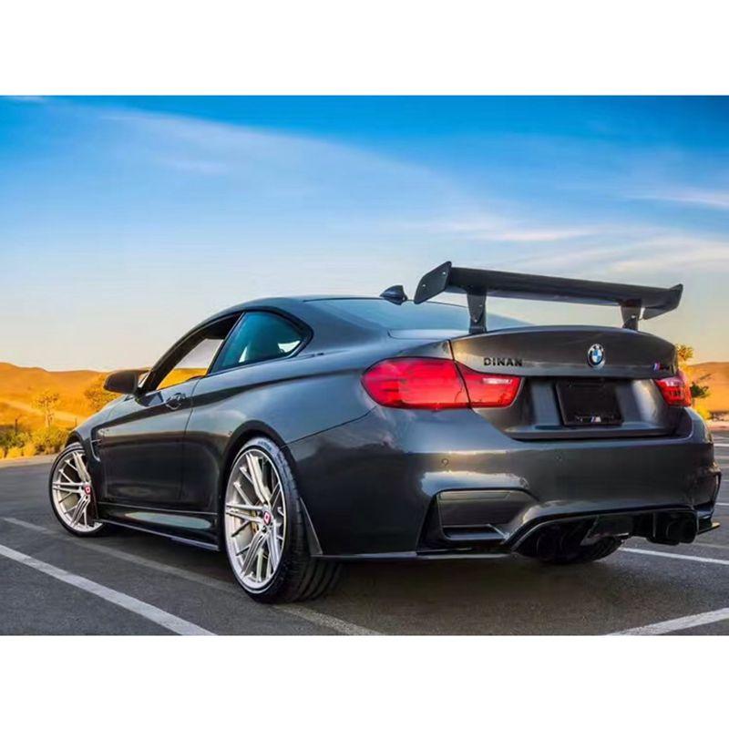 MONTFORD Car Styling GTS Aerofólio Traseiro de Fibra de Carbono Modificado Cauda Asa Para BMW 1 M E82 E87 E90 E92 E93 M3 F30 F10 Revozport Estilo