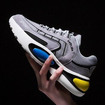851db9be Zapatos para correr de cuatro estaciones elegantes para Hombre Zapatos  Deportivos ligeros transpirables de aire negro rojo hombre Zapatillas de  gimnasio ...