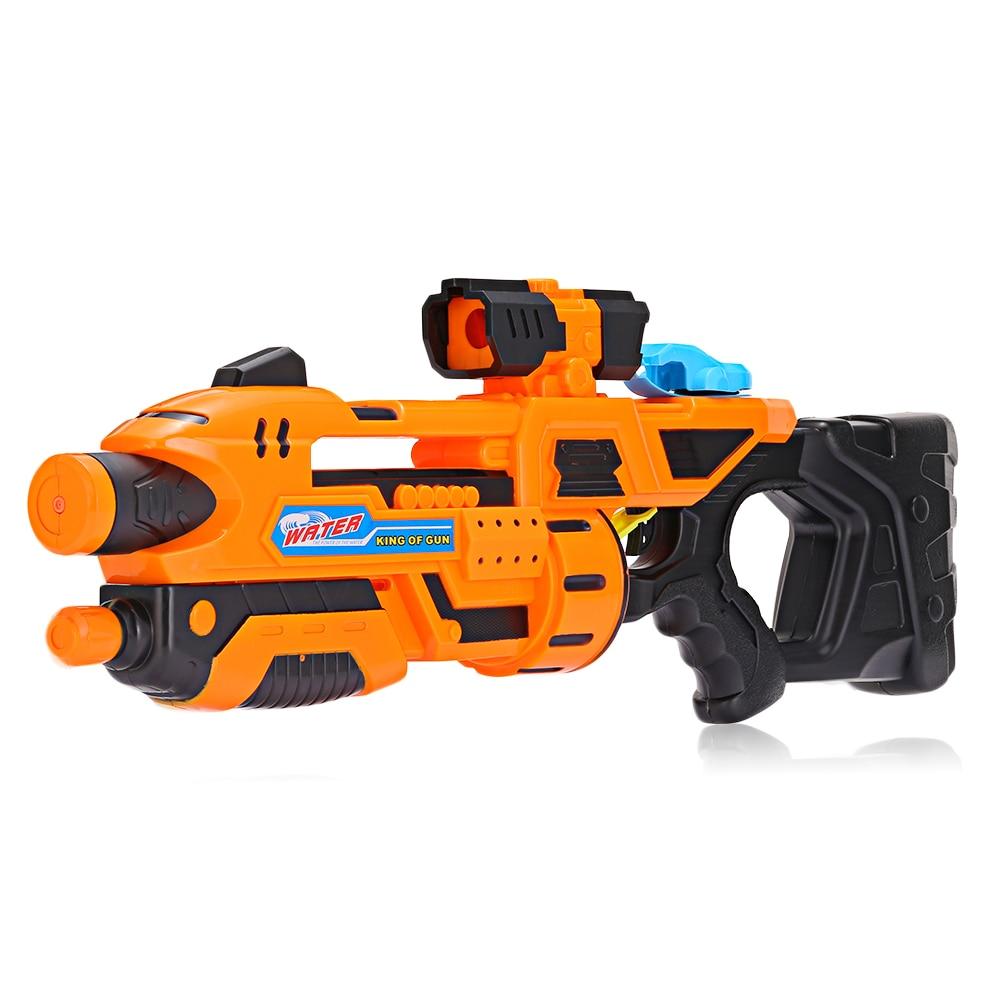 Enfants grande taille pistolet à eau haute pression en plein air été plage garçon jouer à l'eau tir jouet pistolet enfants cadeaux