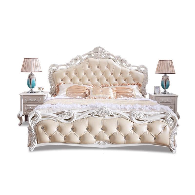 Tingkat Letto Quarto Box Frame Matrimonio Mobili Per La Casa bedroom Furniture Leather Cama Moderna Mueble De Dormitorio Bed