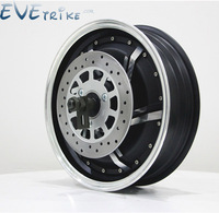 Evetrike 13inch 2000 8000W 48 60 72V Brushless DC Electric Scooter Electric Motorcycle In Wheel Hub Motor and Full Kits On Query