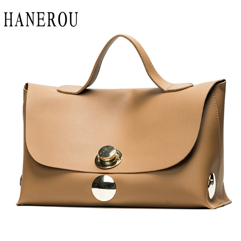 Fashion Luxury Lock Women Handbags High Quality Pu Leather Bags Handbags Women Famous Brands Big Capacity Ladies Hand Bags Sac