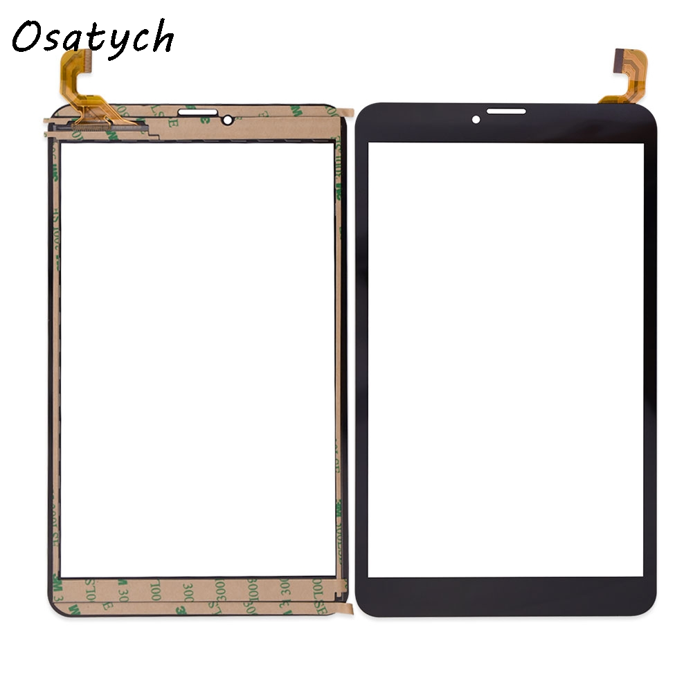 все цены на  8 inch Touch Screen for Texet TM-8043 Tablet PC FK-80007 V2.0 X Glass Panel Digitizer Replacement Free Shipping  онлайн