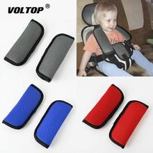 2 個ベビー子供の安全シートベルトカバー車のアクセサリーのショルダーパッド安全ベルトハーネスショルダー保護