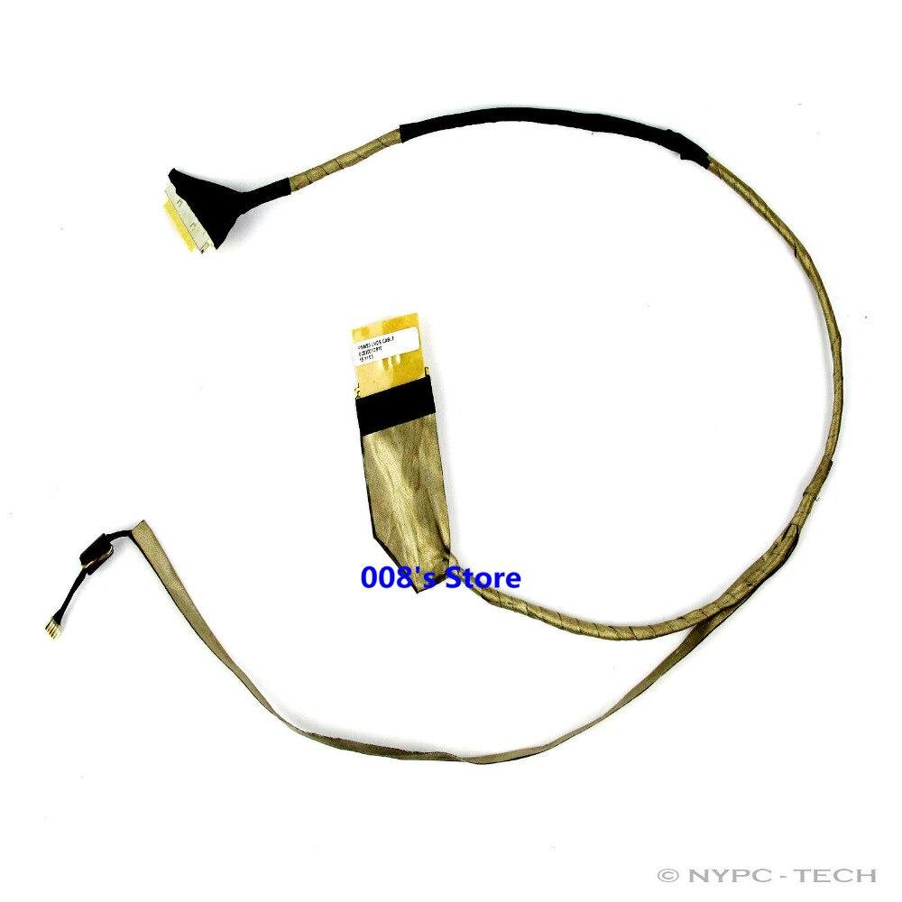 Новый светодиодный ЖК-кабель LVDS ДЛЯ ACER Aspire 5750 5750G 5755 5350 5750ZG Gateway NV57 NV57H NV55S NV57H43U, гибкий экран дисплея для видео