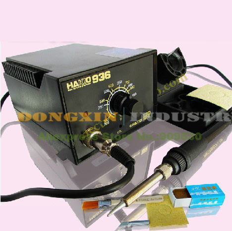 ФОТО New 60W 220V Original HAKIO 936 Soldering Station Tool Set  Free shipping